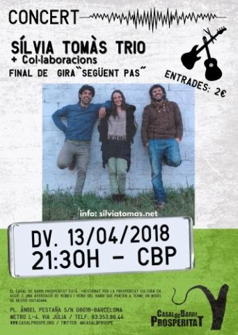 Sílvia Tomàs Trio - Concert final de gira