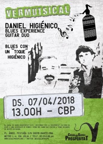 "Vermutsical ""Daniel Higiénico Blues Experience"" (Guitar dúo)"